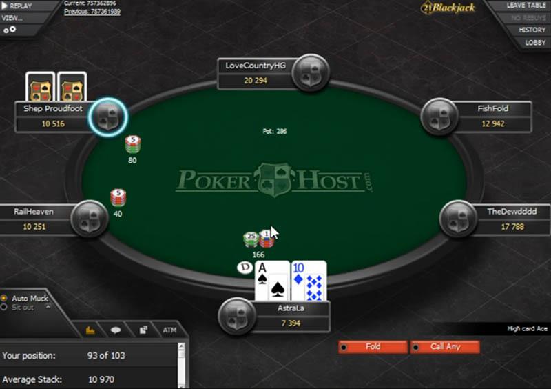PokerHost Online Network