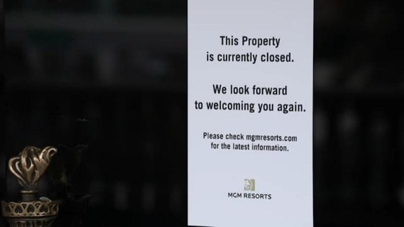casino shutdown unemployment