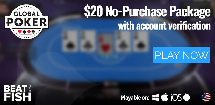 Play Now at Global Poker