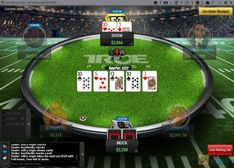 True Poker Cash Game