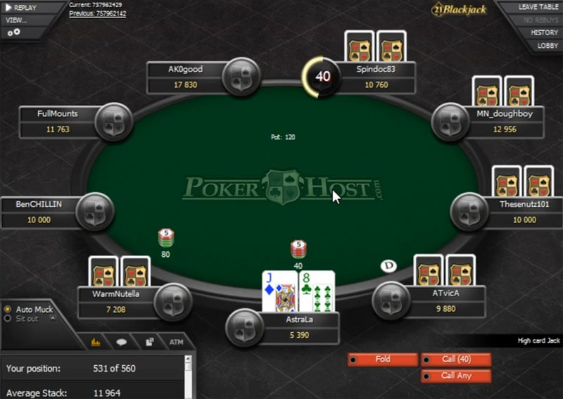 PokerHost Payout Times