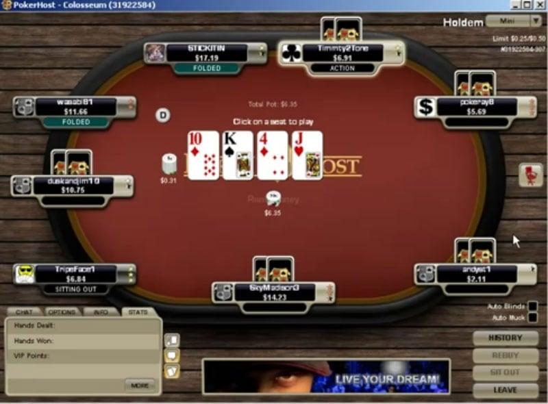PokerHost Merge Network Review