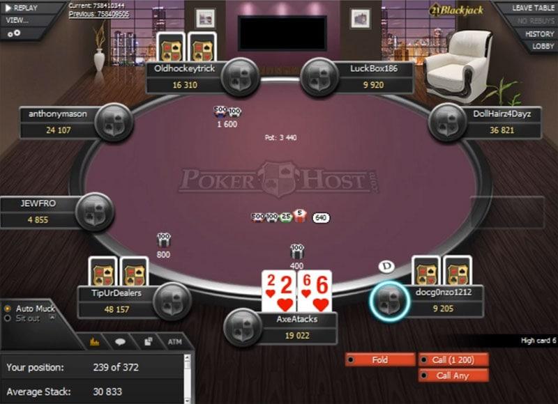 PokerHost Software on WPN