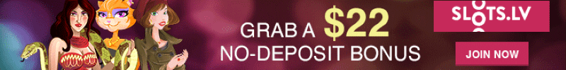 Get $22 Free at Slots.lv