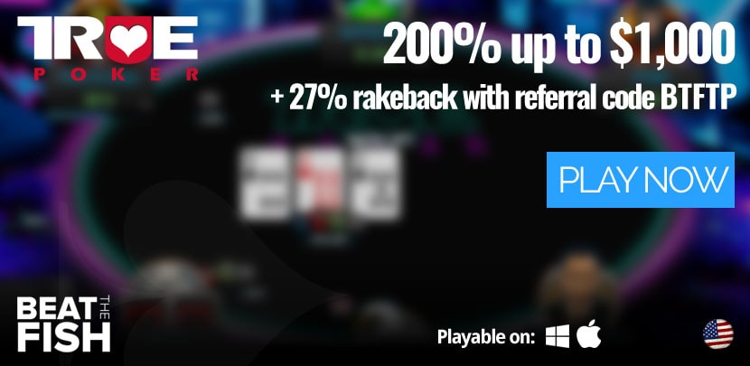 Play Now at True Poker