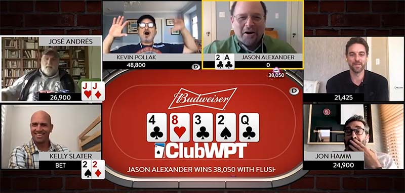 Budweiser and WPT Launch Celebrity Poker Challenge for Charity