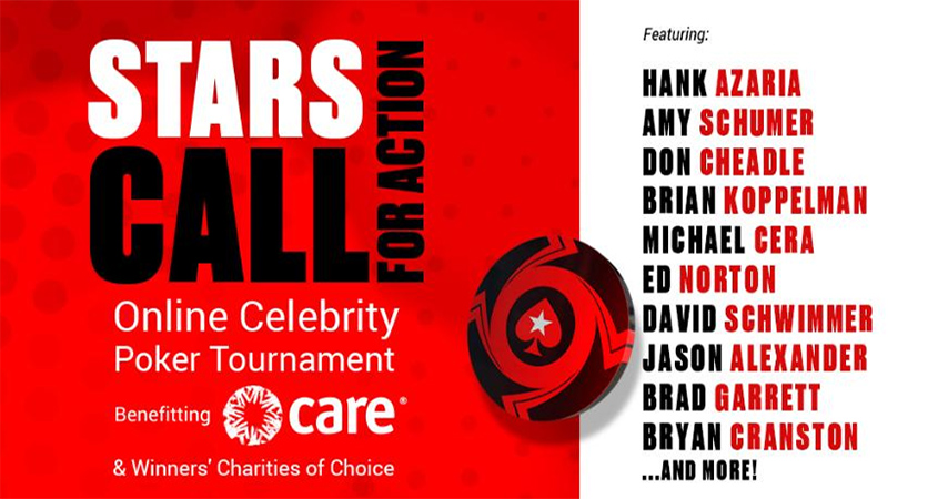 PokerStars, Hank Azaria and Andy Bellin Host Star-Studded Online Charity Poker Tournament
