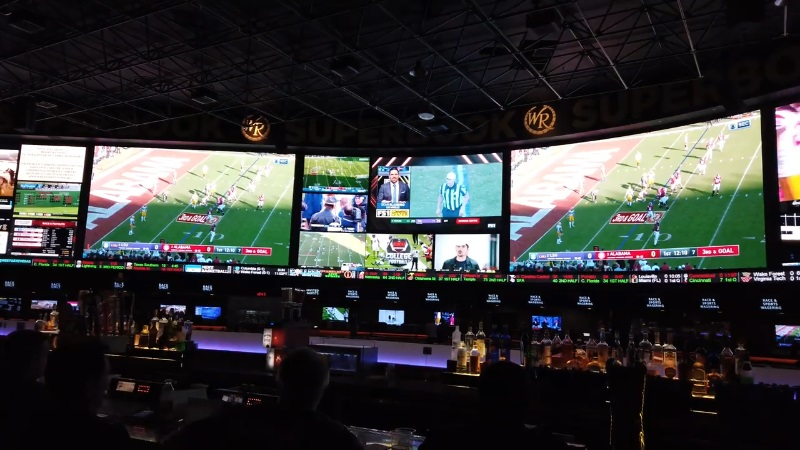 sports betting on increase