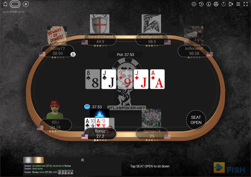 Atlas Poker Cash Game