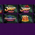 Video poker variants at Super Slots online casino