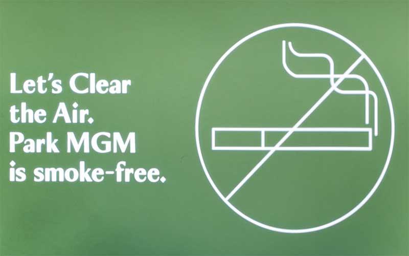 Park MGM Casino Smoking Ban