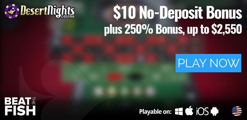 Play Now at Desert Nights Casino