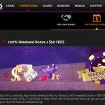 weekend bonus at desert nights casino