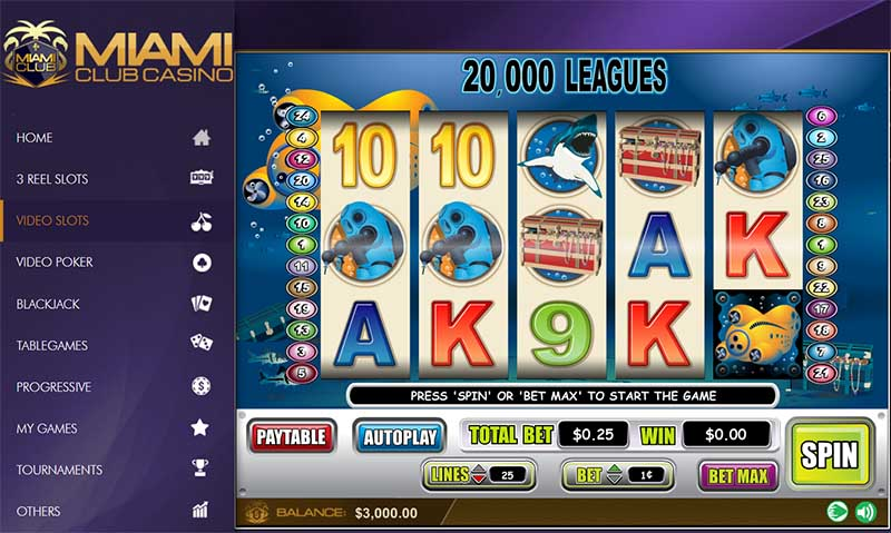 miami club casino slots gameplay