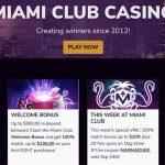 miami club homepage promotions