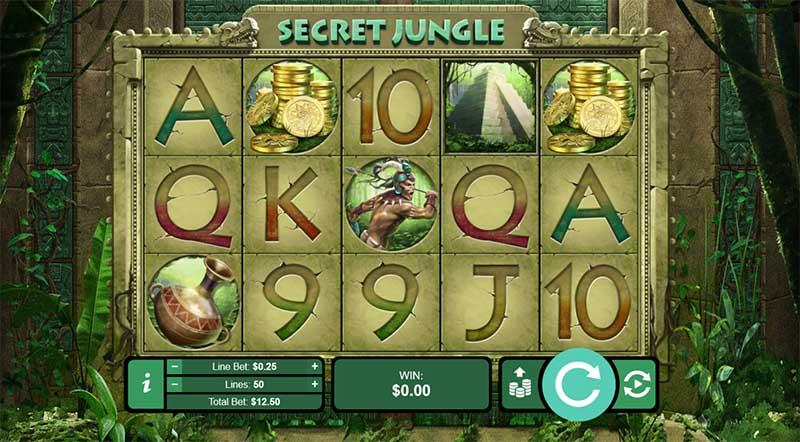 secret jungle slots free spins uptown aces