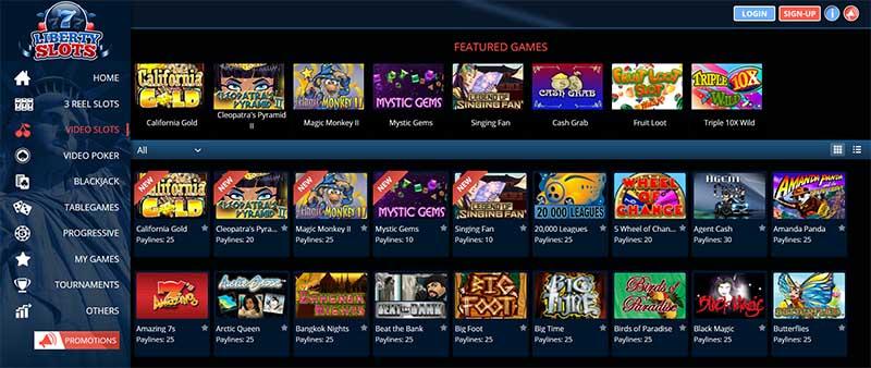 online slots at liberty slots casino