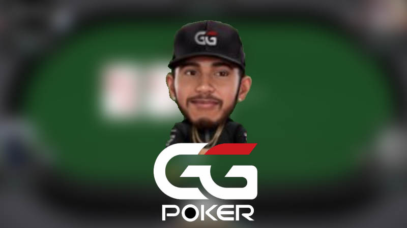 Lewis Hamilton playing online poker at GGPoker