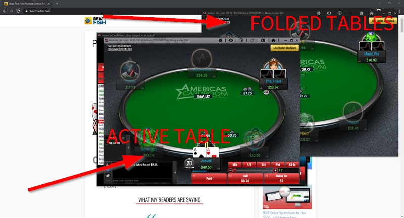Stack and Tile Multi-Table Poker