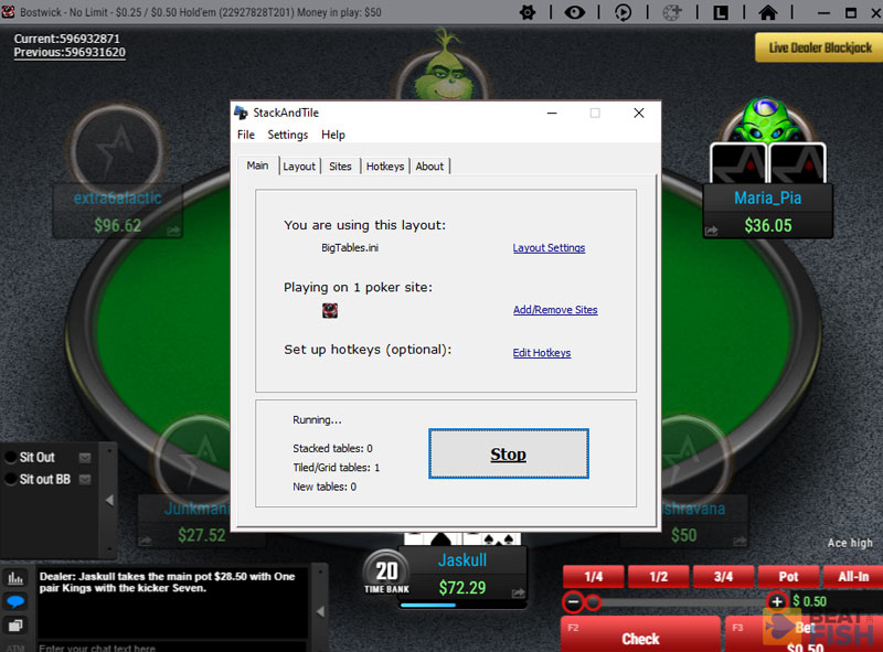 Stack and Tile Poker Software Review