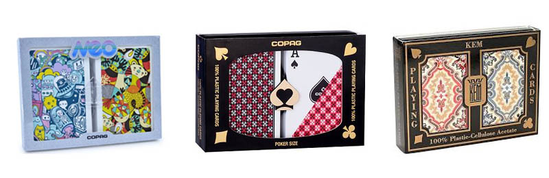 Printed poker cards gifts