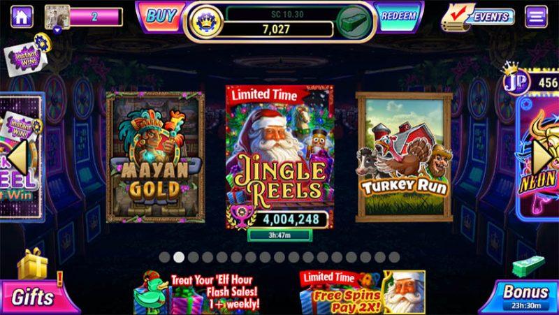 Luckyland Slots lobby
