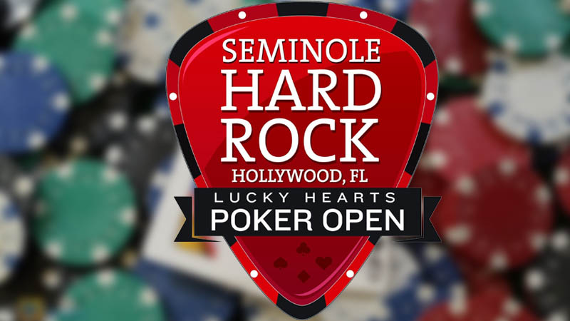 Lucky Hearts Poker Open 2021