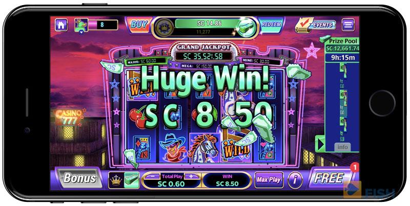 LuckyLand Slots on iPhone