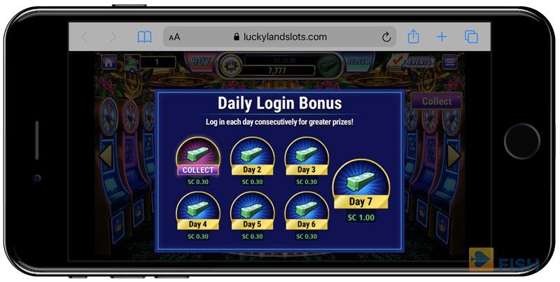 LuckyLand Slots No Deposit Bonus
