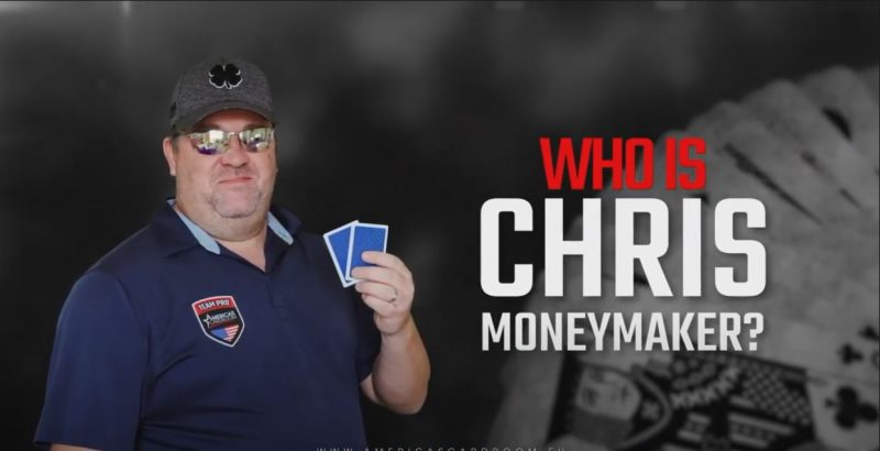 Chris Moneymaker Partners with Americas Card Room