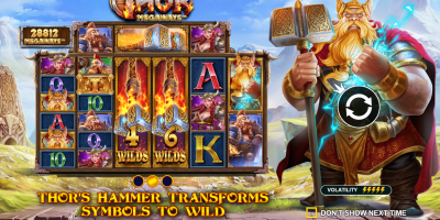Pragmatic Play Releases New Exciting Slot Power of Thor Megaways