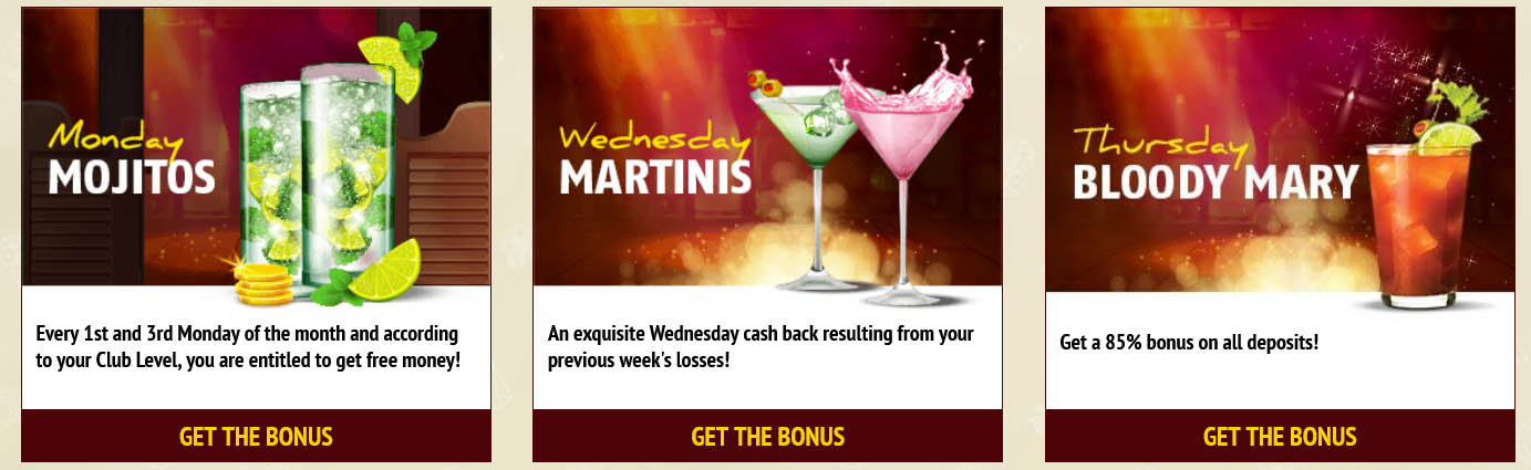 Daily Rewards at Red Stag Casino