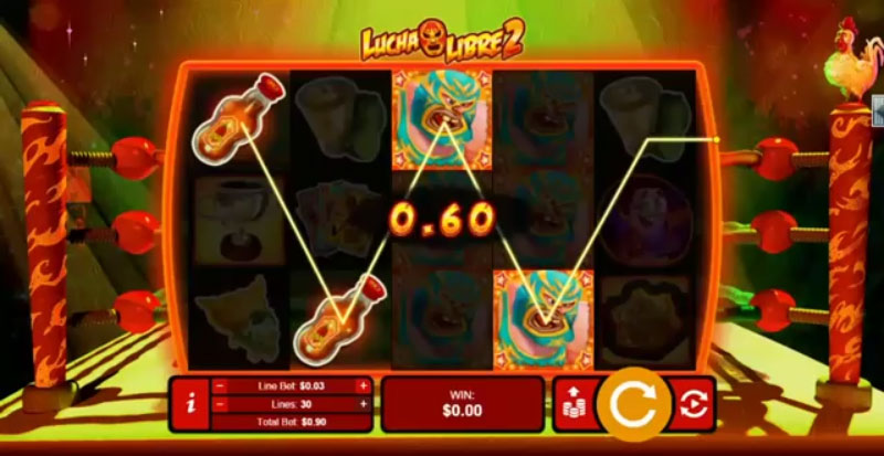 Playing Lucha Libre Online Slot