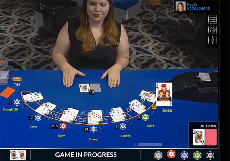 Red Dog Live Dealer Games