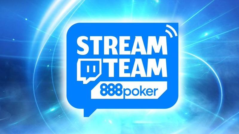 888Poker Stream Team Members