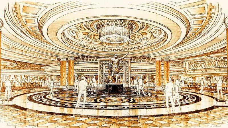 Allard & Conversano Caesars Palace casino plan