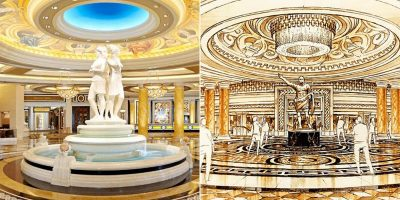 "Caesars Palace Undergoes ""Extravagant"" Renovation"