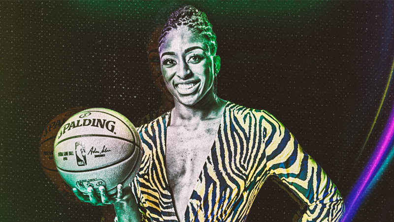 Nneka Ogwumike Bet On Women Campaign