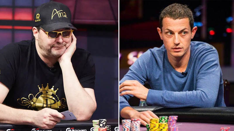 Tom Dwan Phil Hellmuth Heads Up Duel